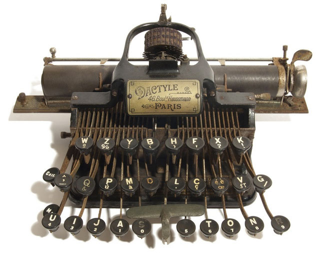 1893 Blickensderfer 5 or Orchard typewriter