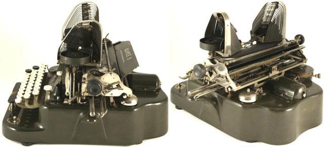 1894 - 1928: Oliver 5-typewriter
