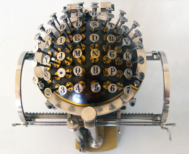 The Hansen Writing Ball