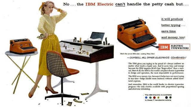 1935: IBM Typewriter