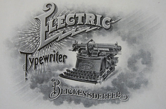 1902 Electric Blickensderfer