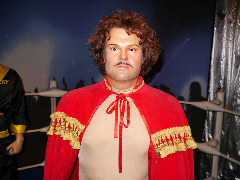 Jack Black at Hollywood Wax Meuseum