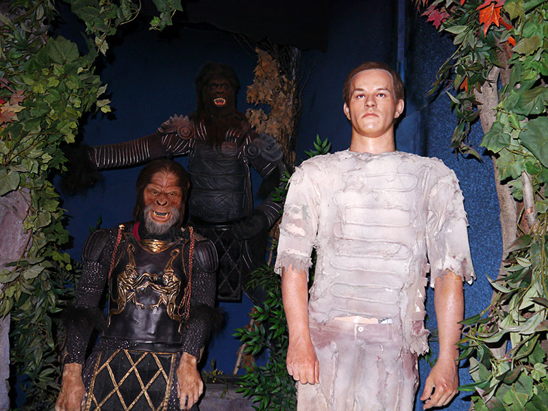 Mark Wahlberg at Hollywood Wax Meuseum