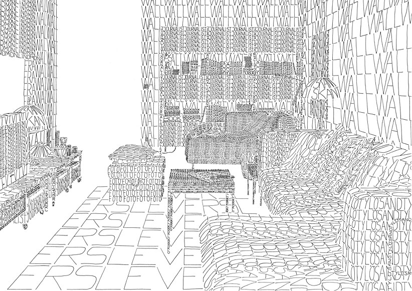 Amazing Houses Only Drawn With Words