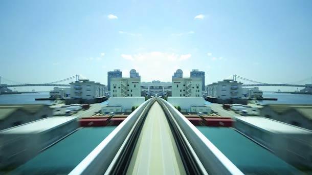 Shinkotsu Yurikamome-Roam Tokyo in Hypnotic and mesmerizing journey