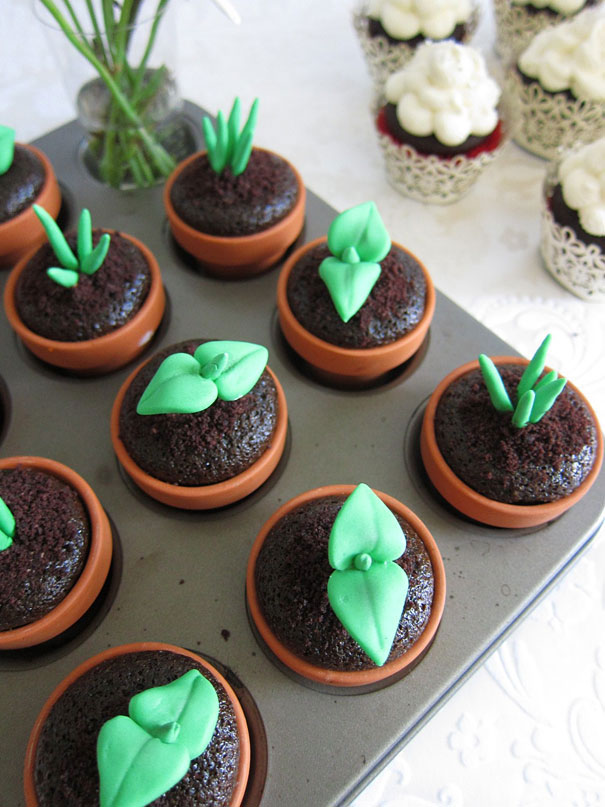 Germs cupcake