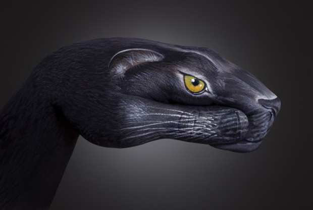 Panther1-Ultra Realistic Hand Painting