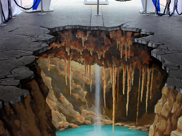 The top 5 most talented 3d painting artists photo gallery for 3d street painting mural art