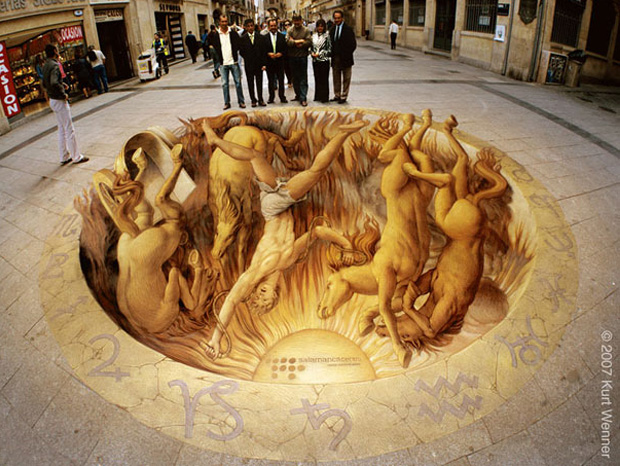 Kurt Wenner--Amazing 3D paintings