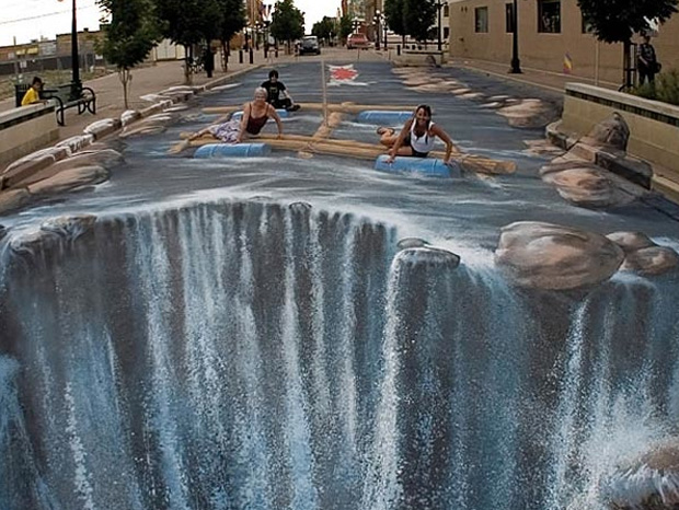 Edgar Müller--Amazing 3D Paintings
