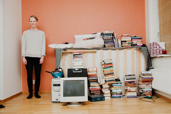 Discover The Portraits Of 9 Persons With Everything They Own