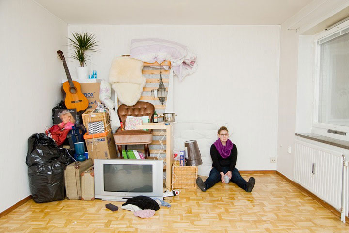 People With All Their Belongings 8