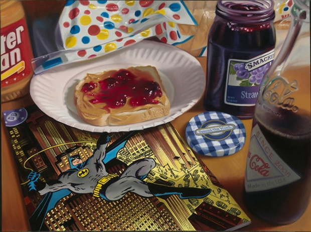 art of photorealism, paintings that look like photos