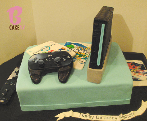 playstation desig cake