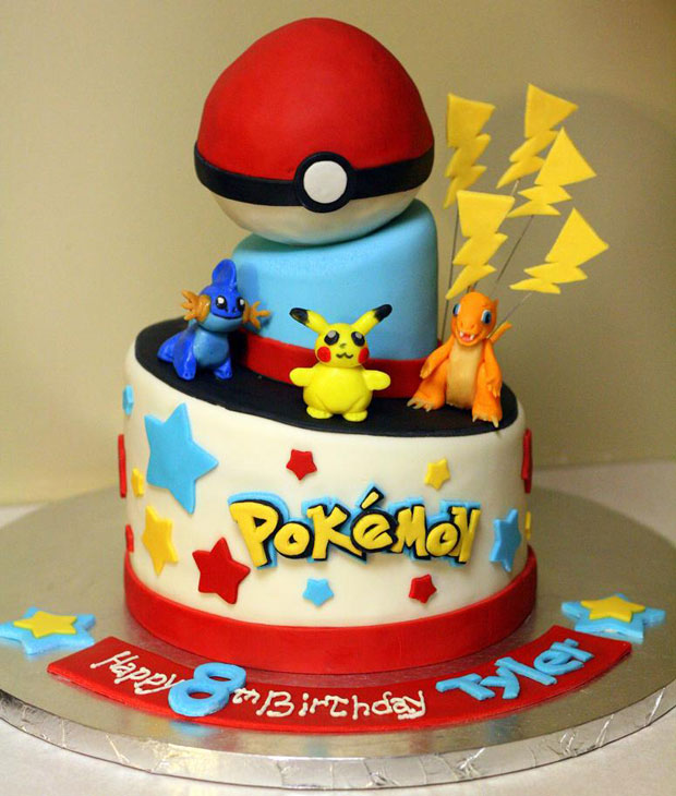 Pokemon design cake