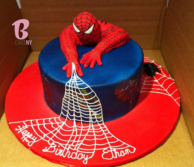 Birthday Cake Designs Spiderman : Want To Bite A cake With Your Favourite Cartoon Character ...