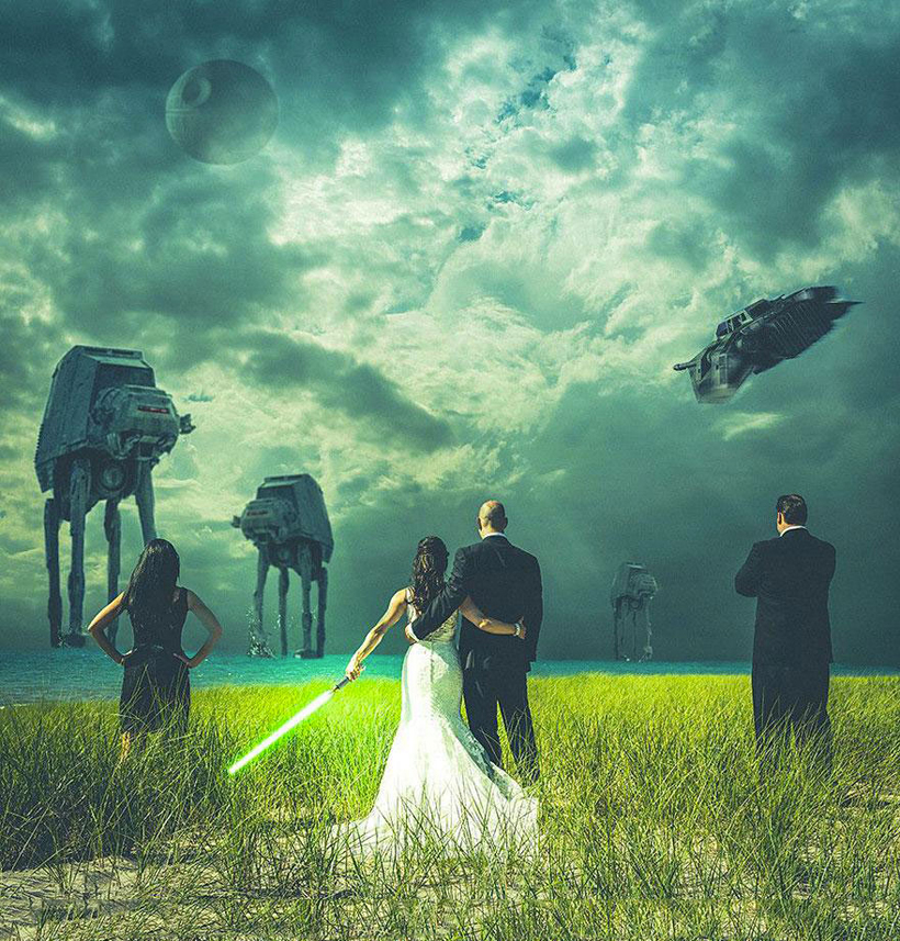 Unexpected Invasion Marriage Photos 1
