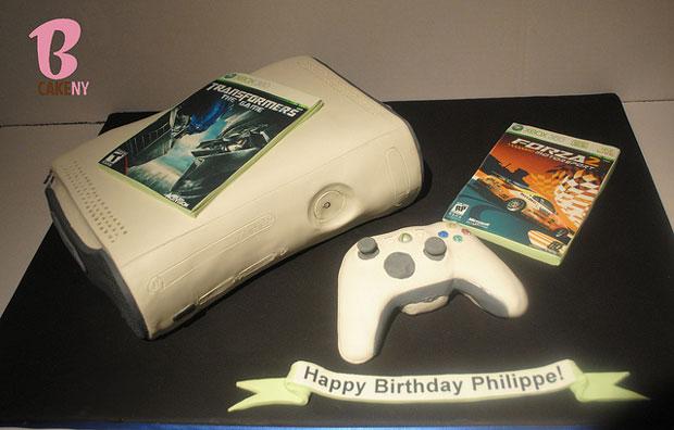 Xbox design cake