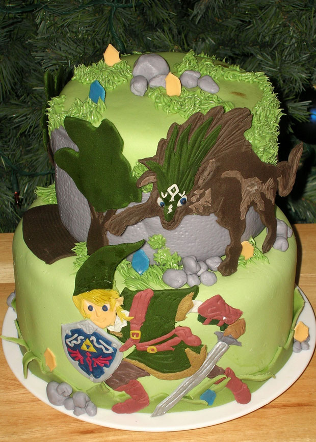 Zelda Twighlight Princess design cake