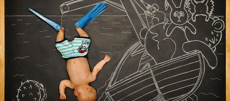 Adventurous Baby Sleep Dreams 10