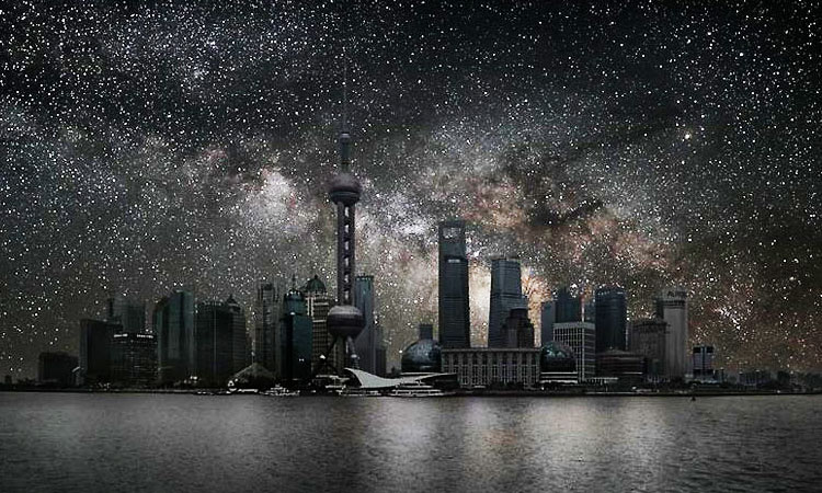Awesome Sky View From Hong Kong 1