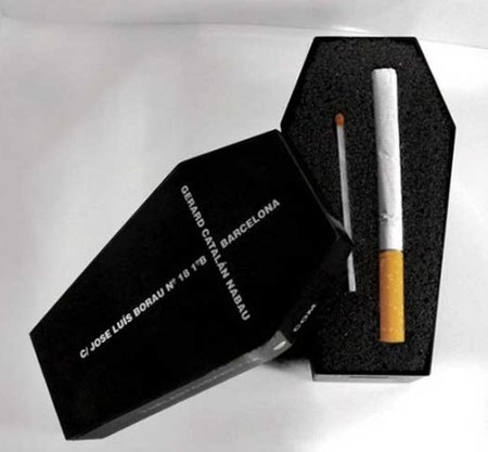 Anti-tobacco packets