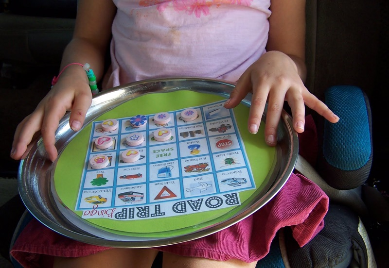 Make your own magnetic game to occupy your long trips