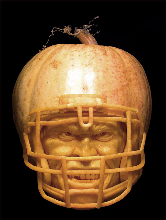 Artist Ray Villafane MakesThe Most Funny Halloween Pumpkins