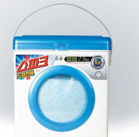 Powder for laundry