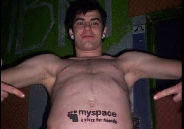 Myspace Fan Tattoo
