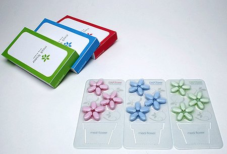 Flower shaped Pills