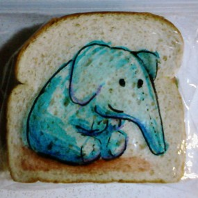 A Creative Father Pleases His Children By Making Creative Sandwiches (Photo Gallery)