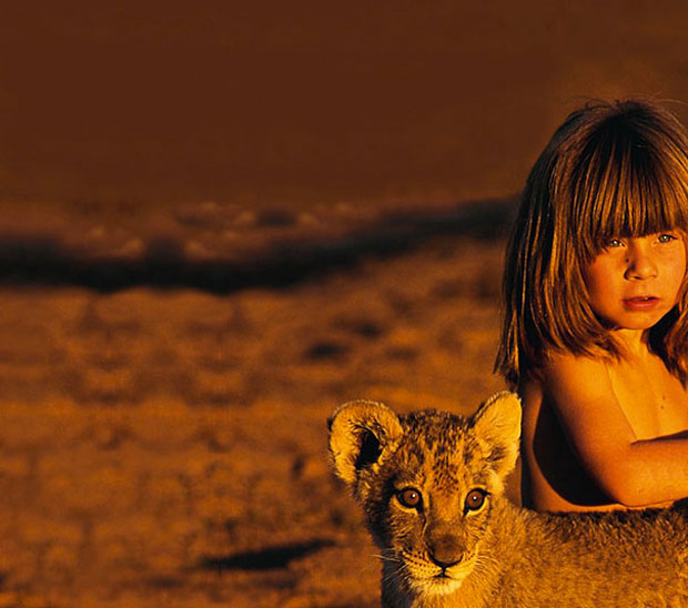 Tippi Degre--girl with a tiger