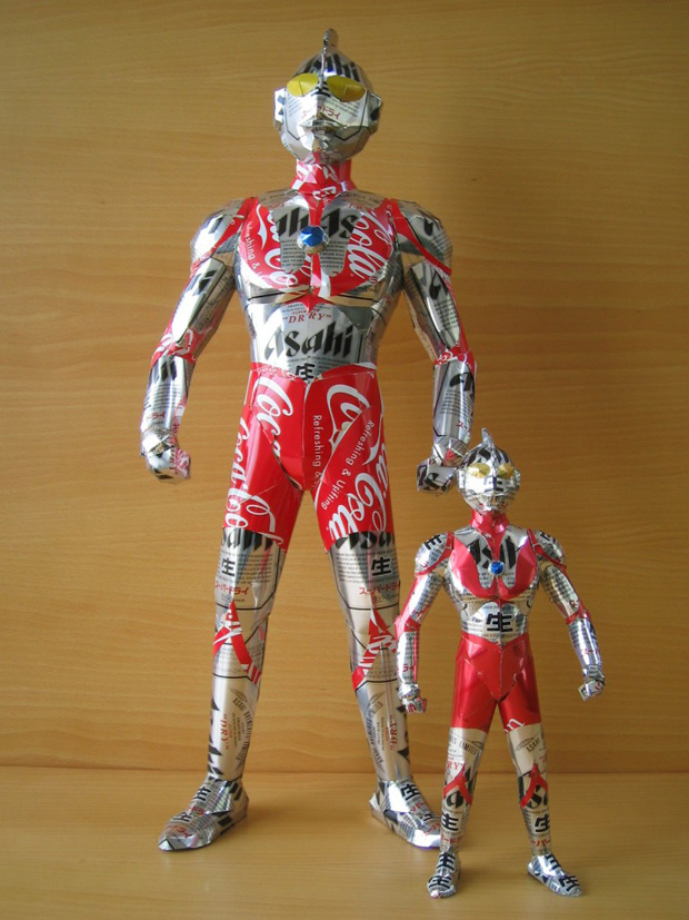 Amazing Can Art--ultraman