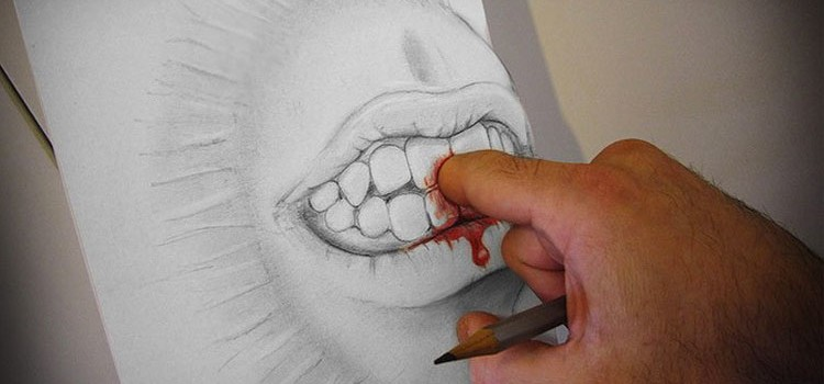 Alessandro Diddi Anamorphic 3D Drawings 1