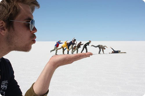 Photos That Play With Prospects To Produce Optical Illusions