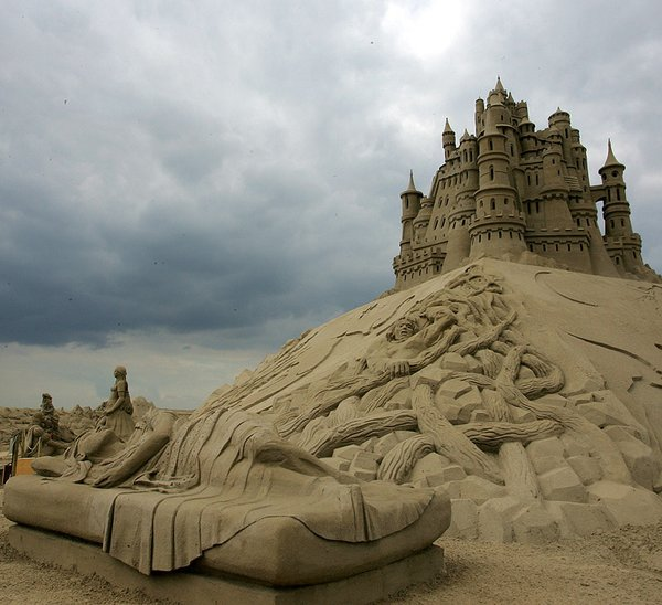 Castle Amazing Sand Sculptures On The Beaches