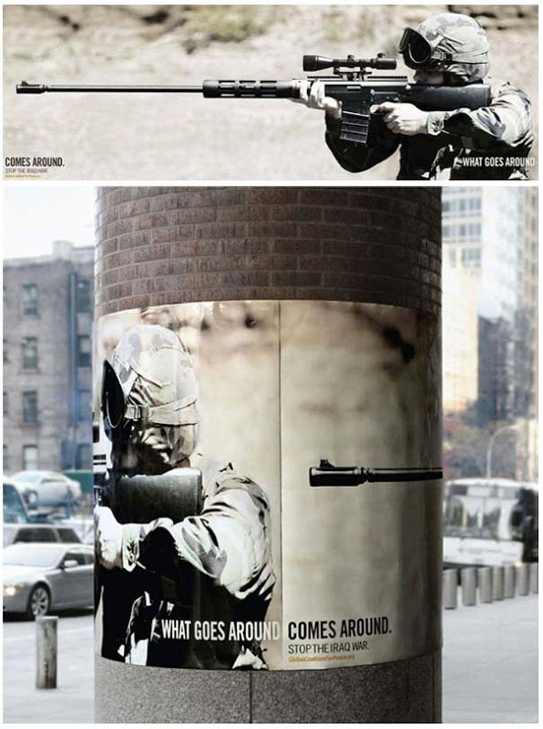 Backlash-Amazing Ads That Merge With Their Surroundings
