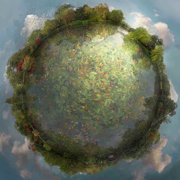 Imaginary Mini-Planets That Will Transport You To A Fantasy World