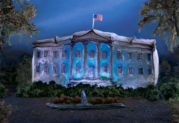 White House-Liz  Hichkok: Incredible Cities And Monuments Made From Jelly