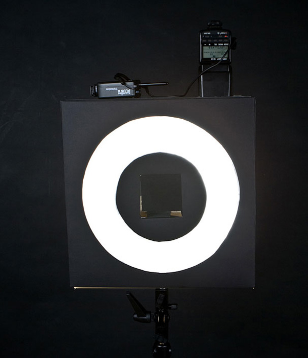 Cool ideas to reuse Pizza box: Camera Flash