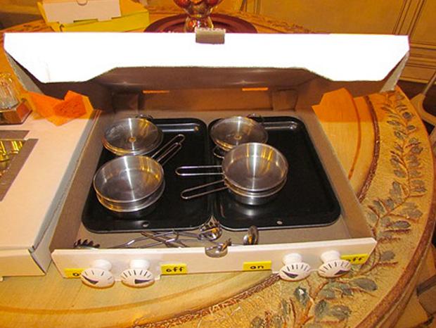 Cool ideas to reuse Pizza box: False Cooker