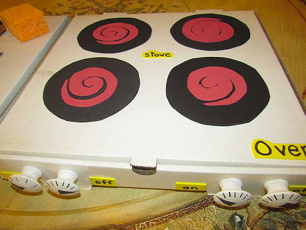 Cool ideas to reuse Pizza box: False Cooker