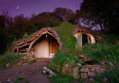 Ecological wooden house - Wales, United Kingdom