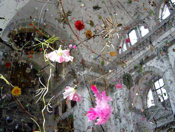 Falling Garden by Gerda Steiner & Jorg Lenzlinger