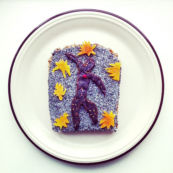 Henri Matisse - The Fall of Icarus Made by Ida Frosk On Toast