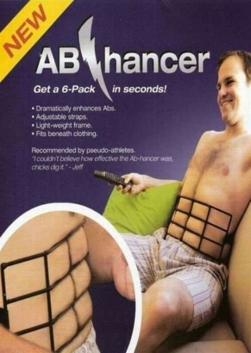 Instant abs machine