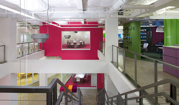 JWT-New-York: Most Innovative, Invigorating And Class Offices In The World