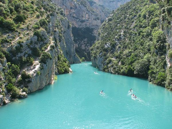 Looks Like Mexico ... ( Location the Lac de Sainte-Croix, Gorges du Verdon)   Landscapes of France That Give A Foreign Look
