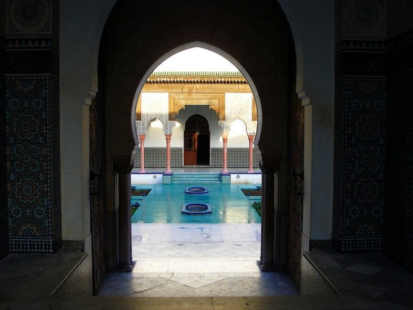 Looks Like Morocco ... (Location the big Mosque of Paris)   Landscapes of France That Give A Foreign Look